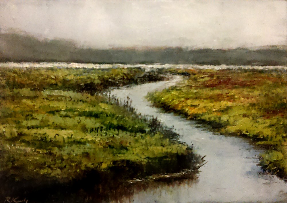 """The Wetlands III"" original fine art by Bob Kimball"