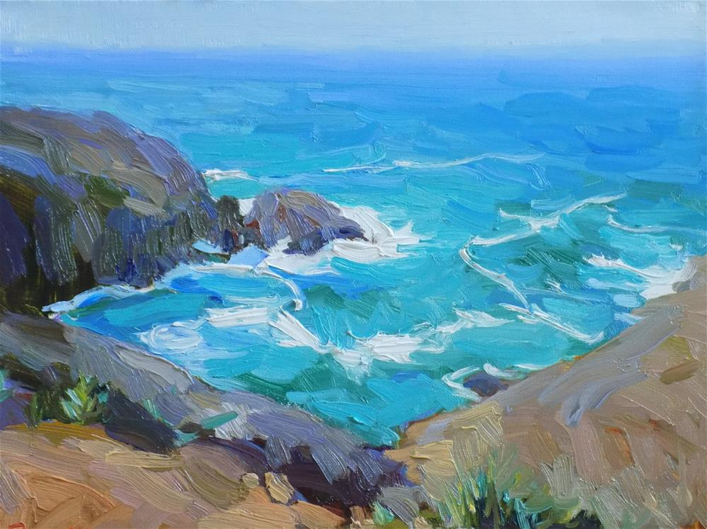 """Ensenada Mexico"" original fine art by Rita Brace"
