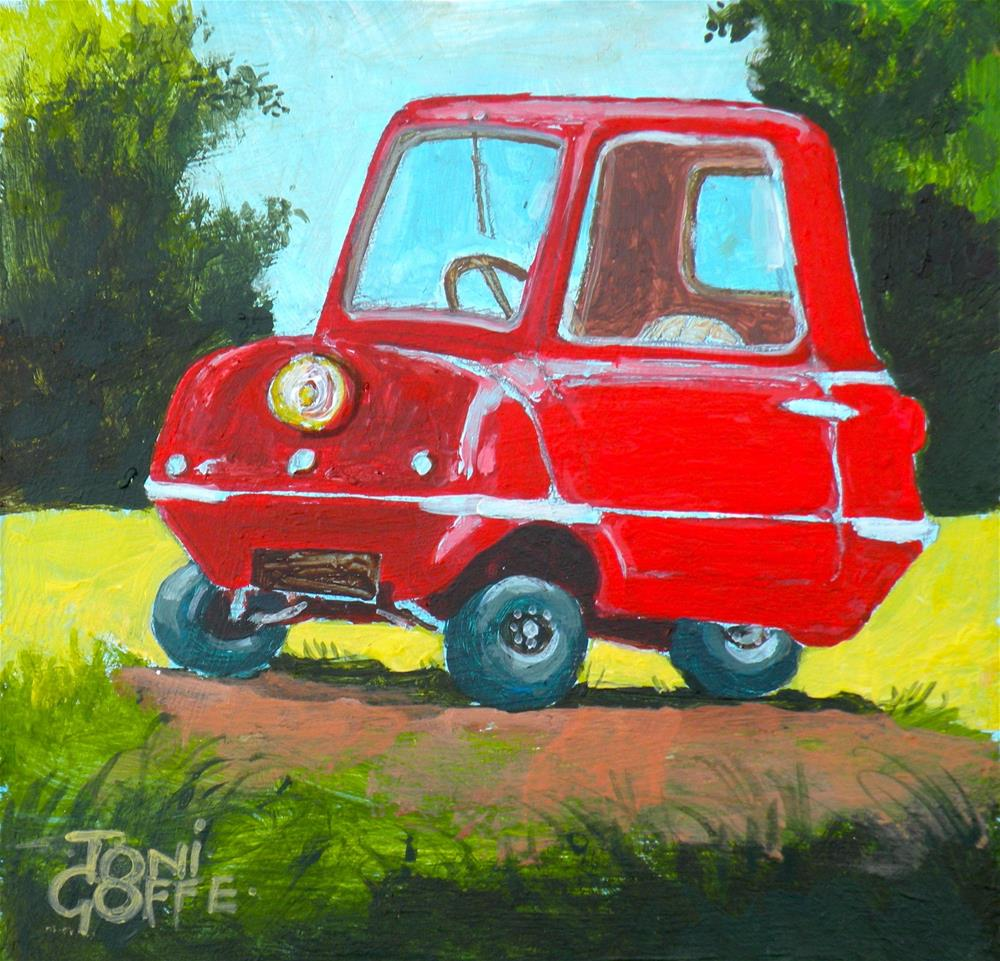 """car"" original fine art by Toni Goffe"