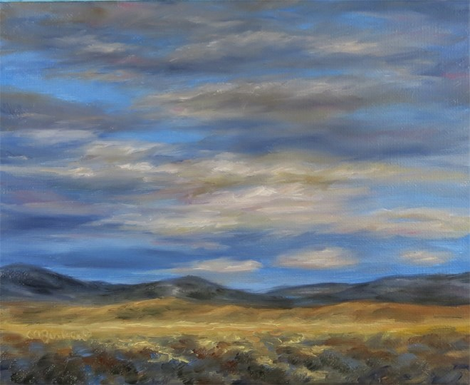 """Golden Grasses"" original fine art by Carol Zirkle"