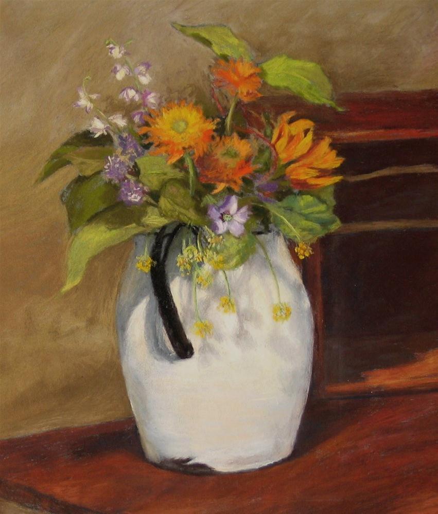 """Country Bouquet"" original fine art by Vikki Bouffard"