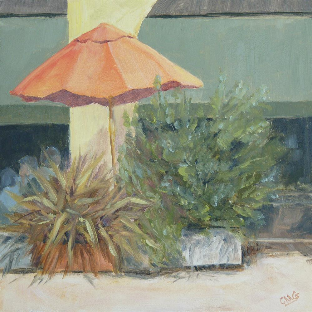 """Lunch at Lola's"" original fine art by Cindy Greene"