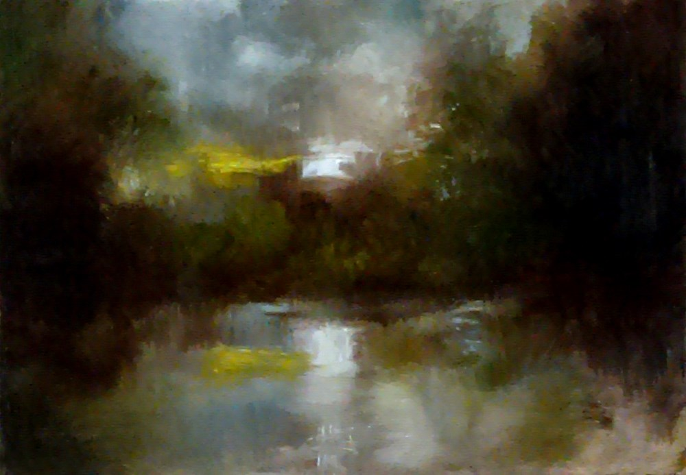 """Stormy Day"" original fine art by Bob Kimball"