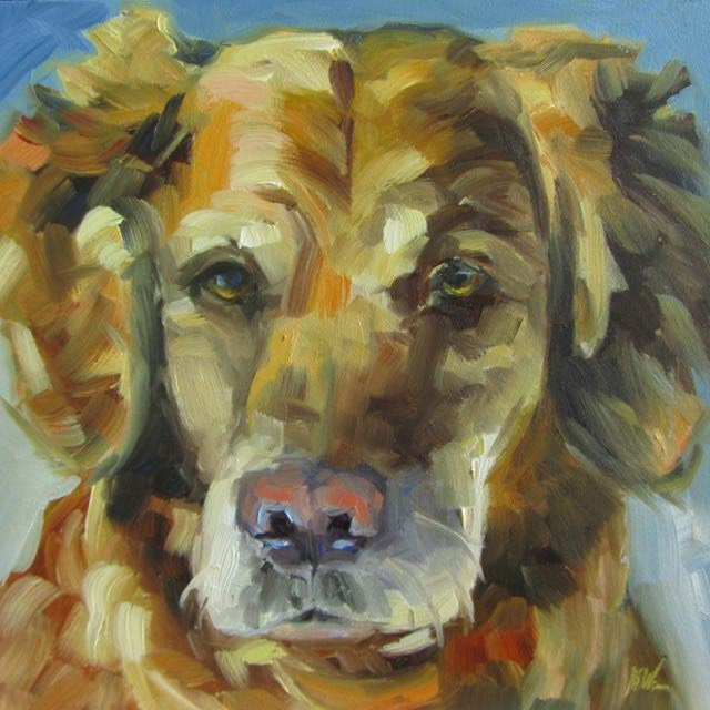"""TUCKER"" original fine art by Mb Warner"
