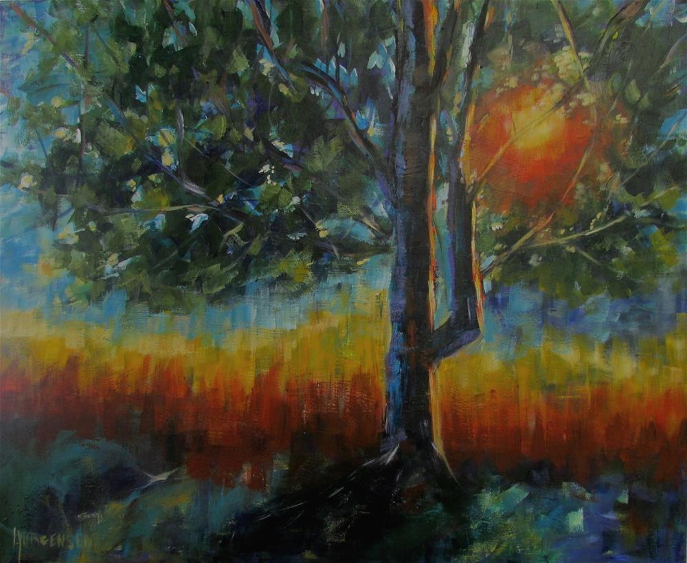 """20 x 24 inch acrylic"" original fine art by Linda Yurgensen"