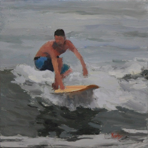 """Wave of the Day"" original fine art by Randall Cogburn"