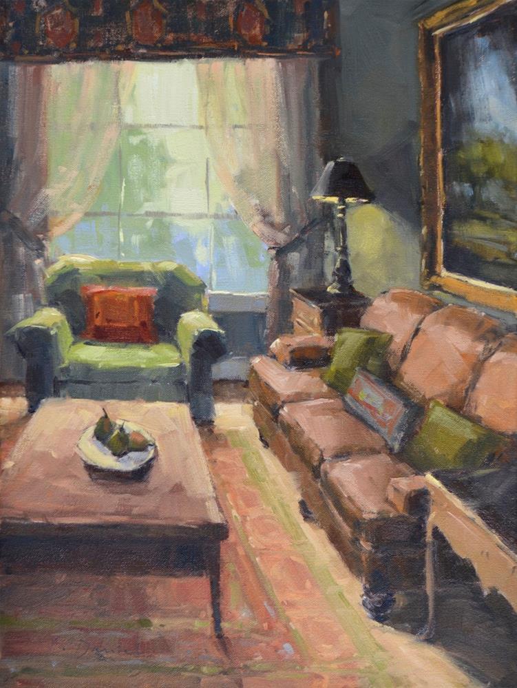 """Window Light - Show Tip #6"" original fine art by Laurel Daniel"