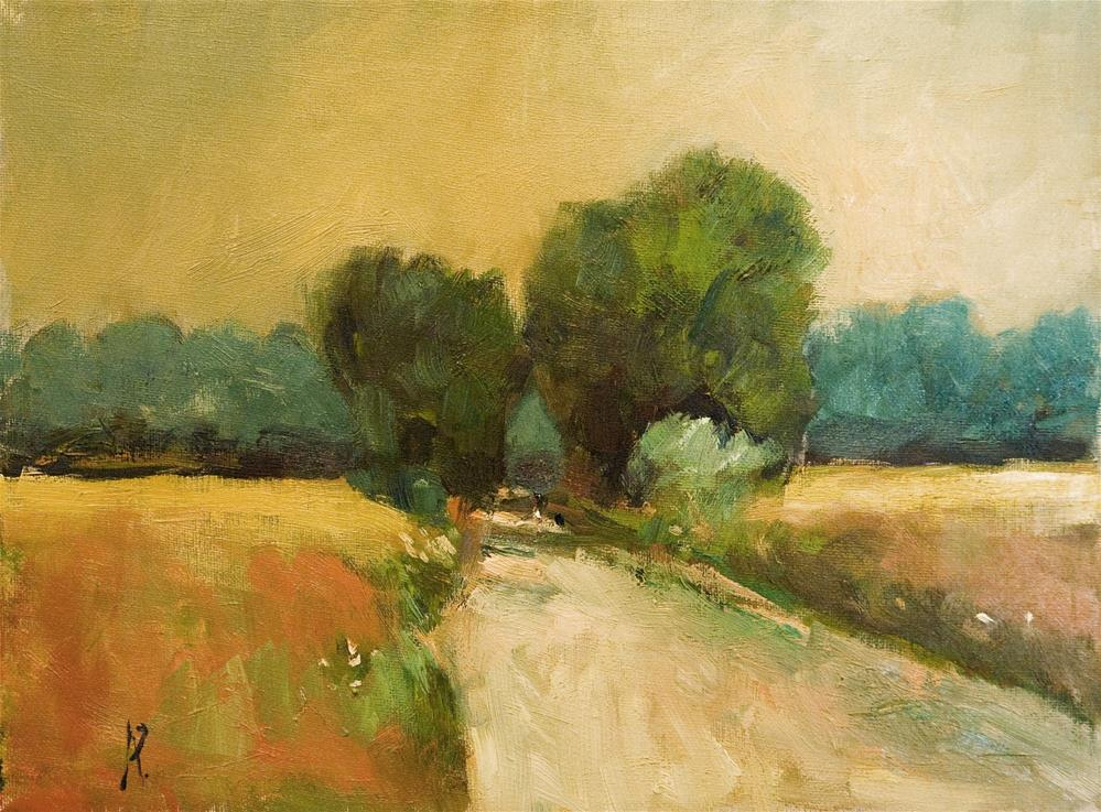 """Sussex Lane"" original fine art by Andre Pallat"