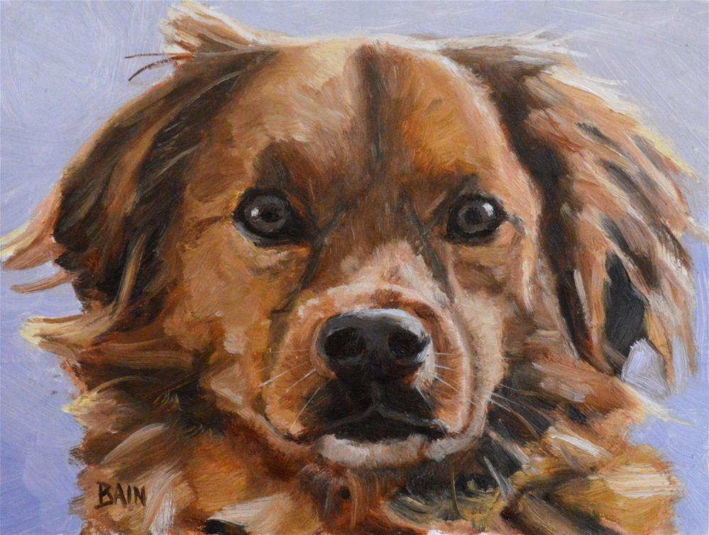 """Jack"" original fine art by Peter Bain"