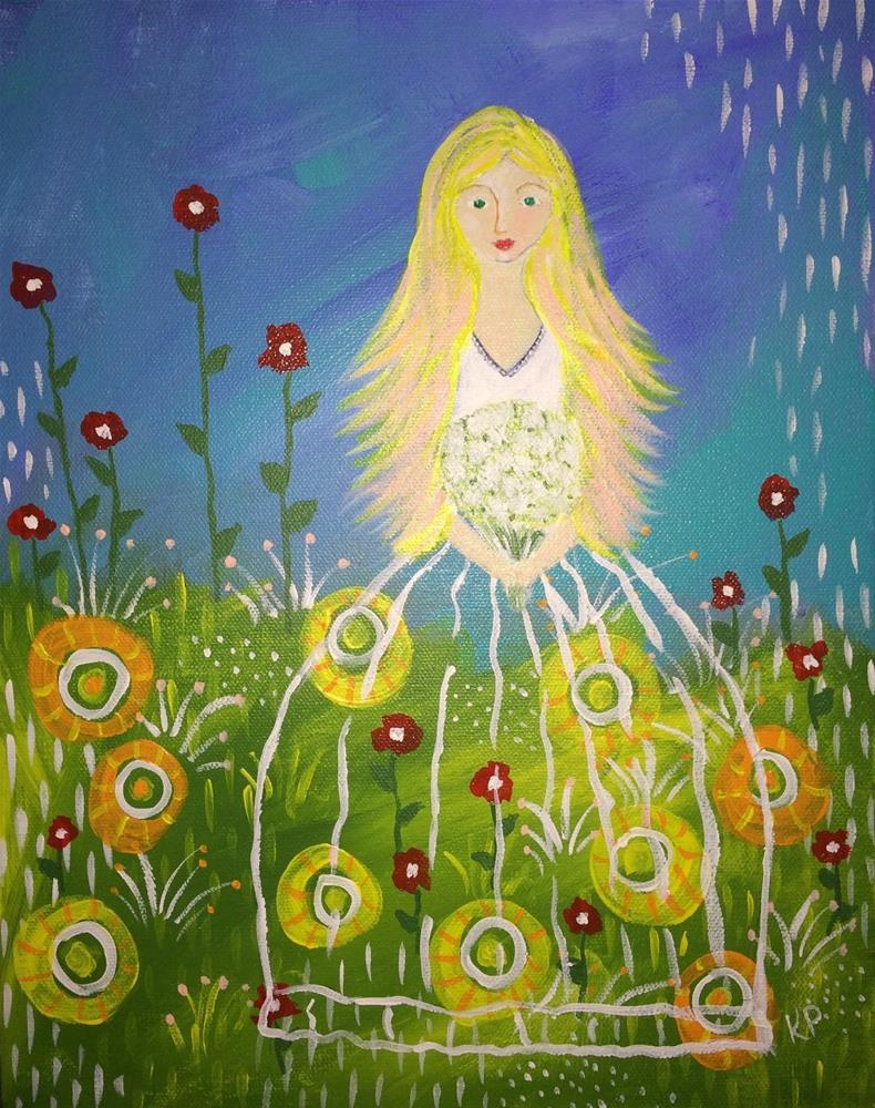 """Springtime Dream"" original fine art by Kali Parsons"