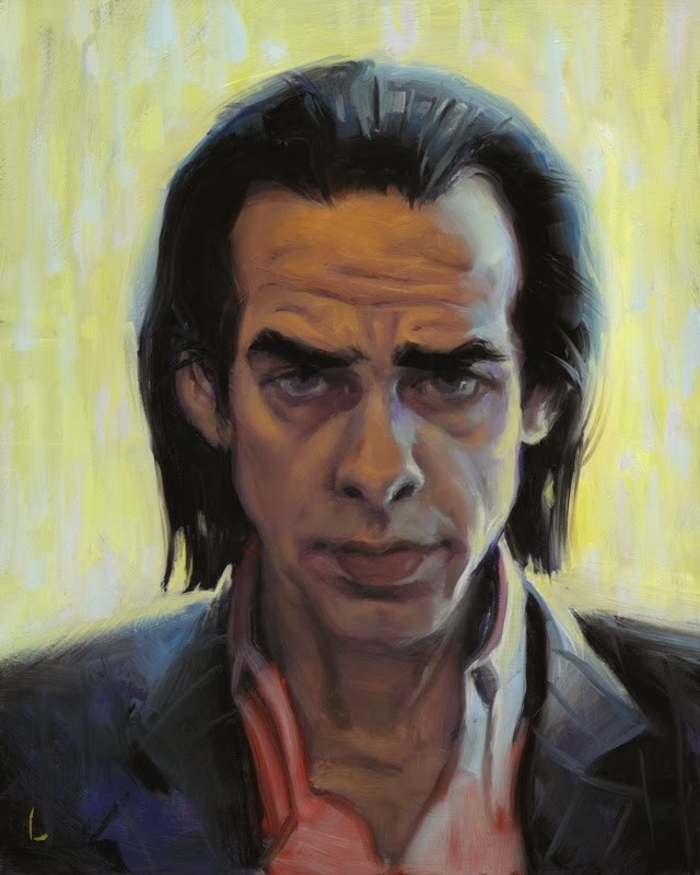 """Nick"" original fine art by John Larriva"