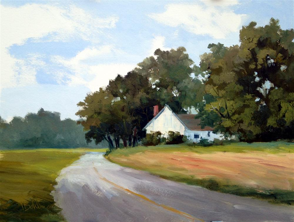 """Farm on Cordova Rd."" original fine art by Tina Bohlman"