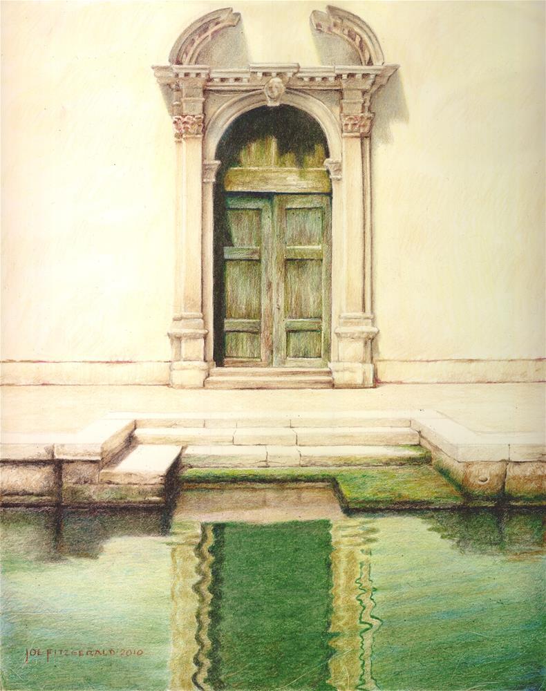 """Scuola Materna Santa Theresa"" original fine art by Joe Fitzgerald"