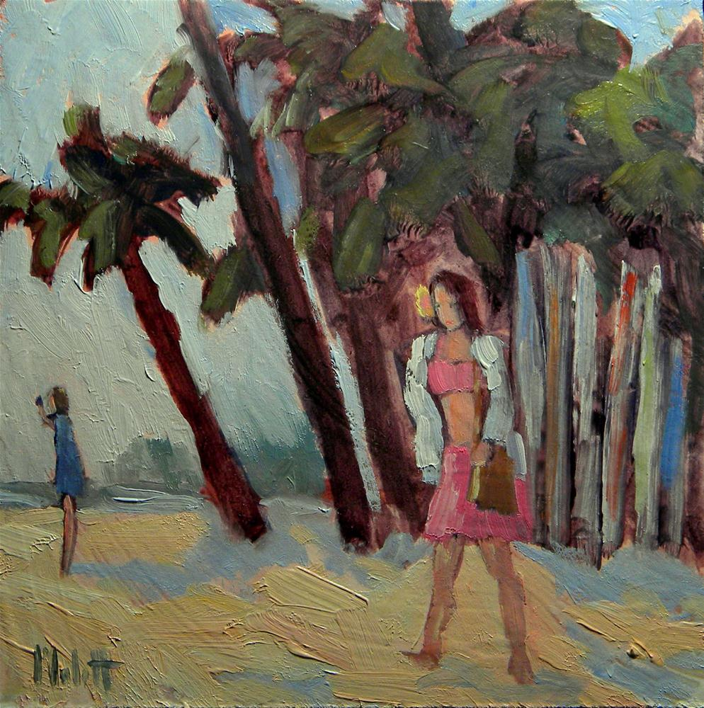"""Island Beauty"" original fine art by Heidi Malott"