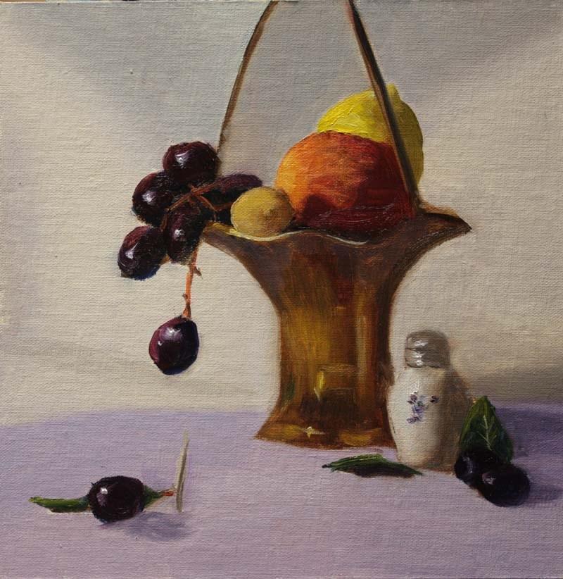 """Li-Fong's Still Life"" original fine art by Jane Frederick"