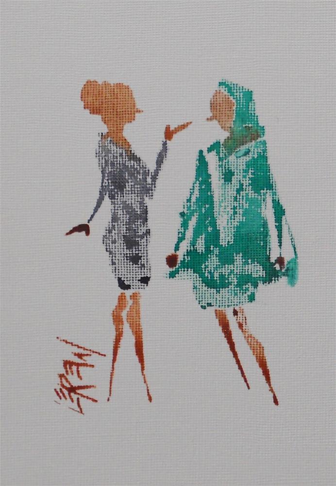"""Lerew Loose Figure Sketch #13-08-28"" original fine art by Larry Lerew"