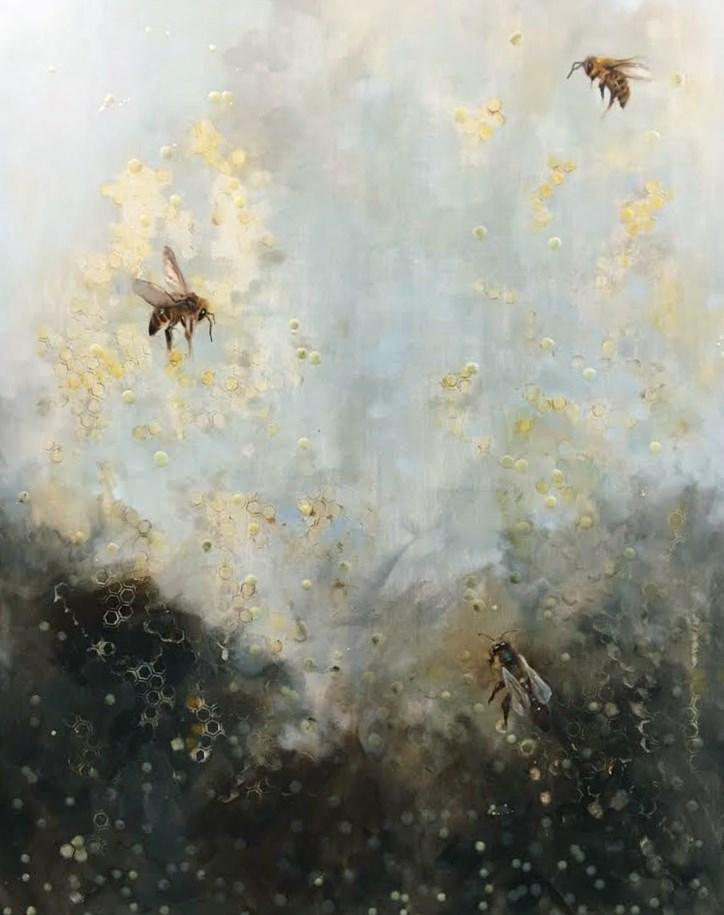 """Ethereal"" original fine art by Elaine Juska Joseph"