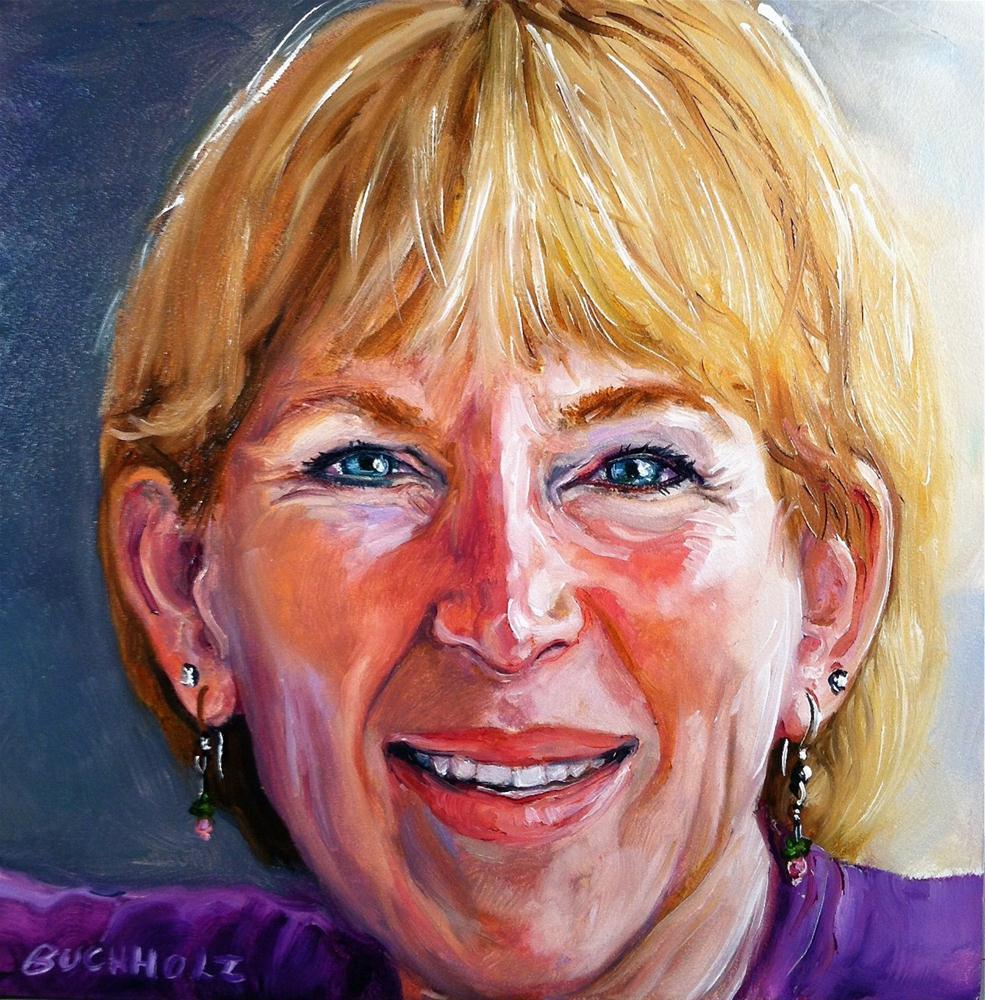 """""""Beth"""" original fine art by Terri Buchholz"""