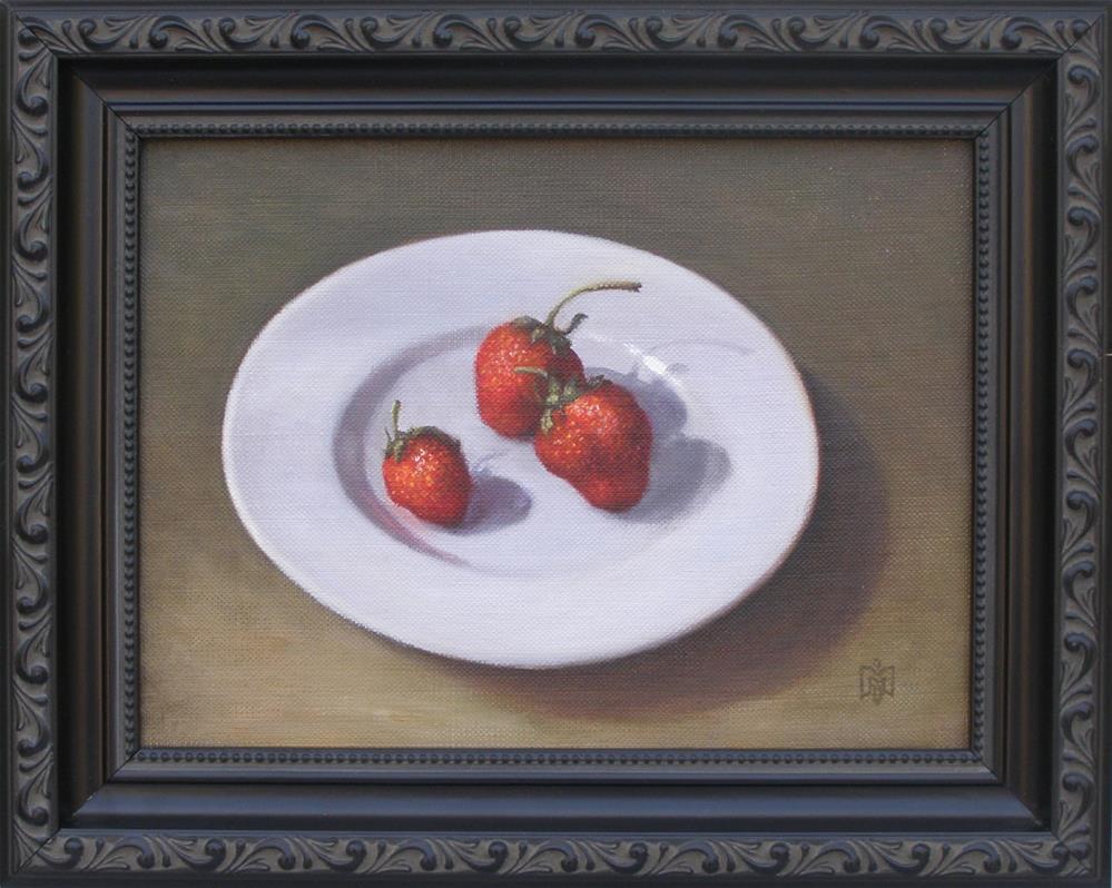 """Summer Treat"" original fine art by Melissa  Imossi"