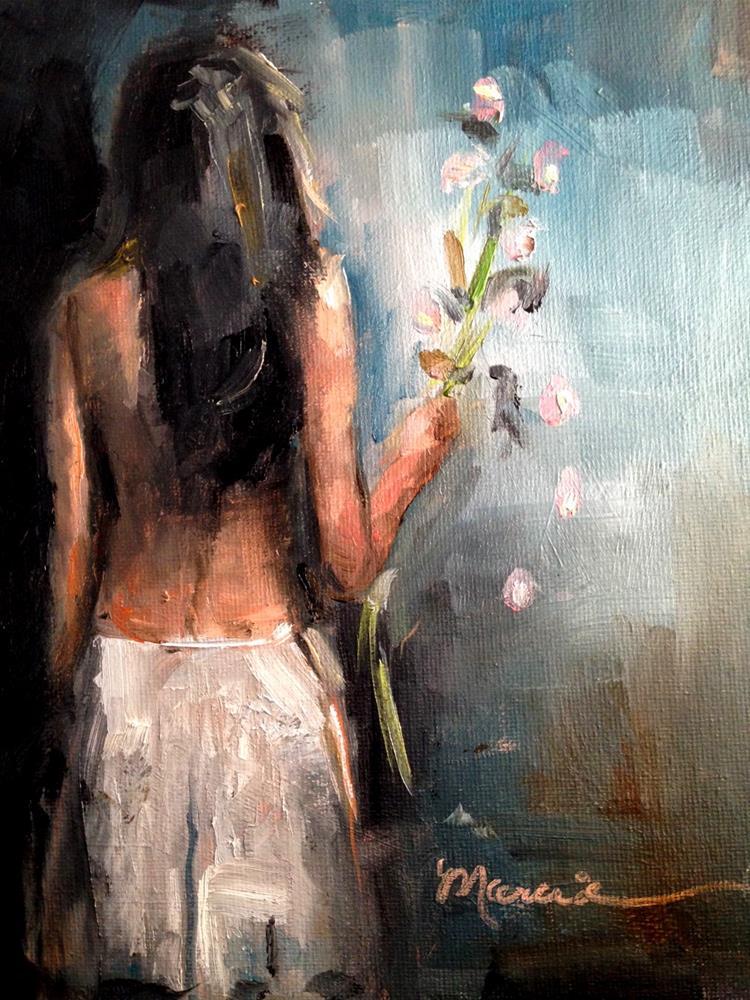 """Broken Promises"" original fine art by Marcia Hodges"