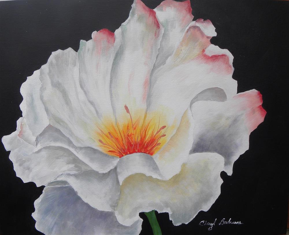 """Rose Arisen"" original fine art by cheryl buhrman"