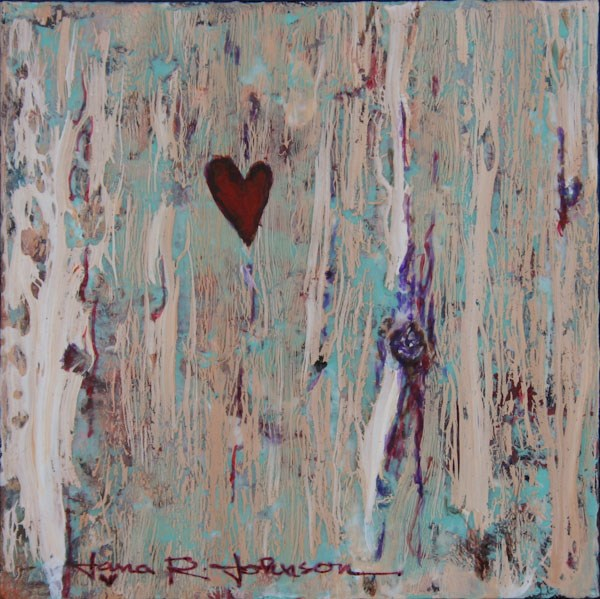 """My Heart Belongs To You"" original fine art by Jana Johnson"