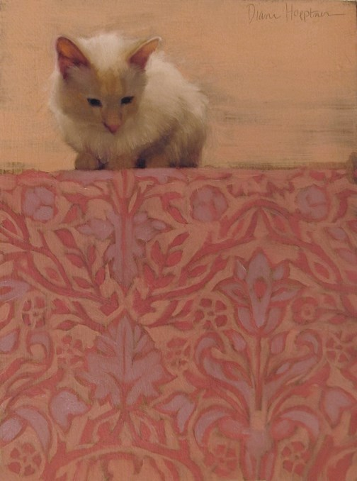 """Across the Divide"" original fine art by Diane Hoeptner"
