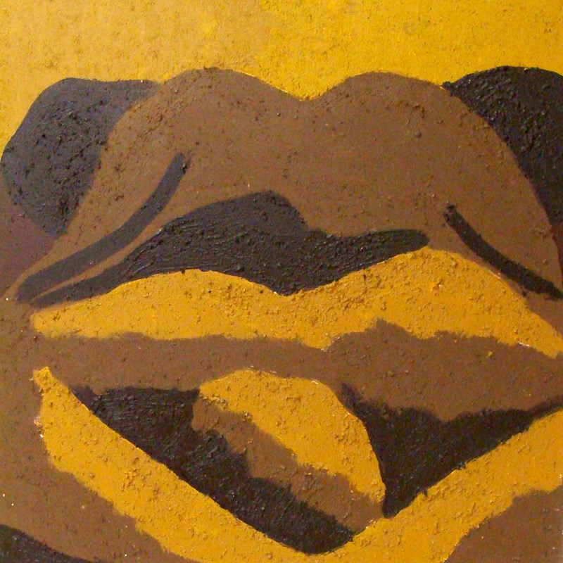 """Dirty Sow"" original fine art by Bonnie Fillenwarth"