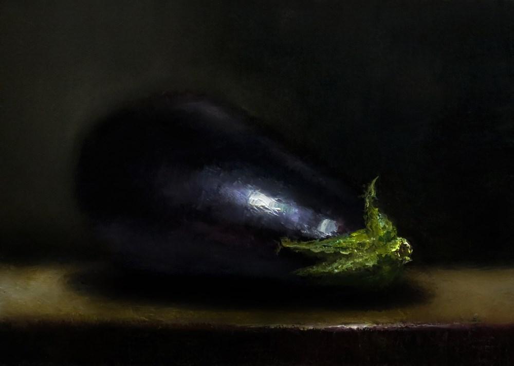 """""""An Eggplant"""" original fine art by Bob Kimball"""