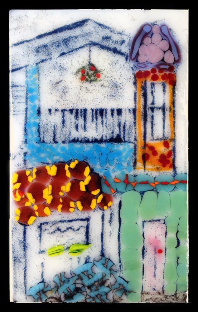 """Old Town Puerto Rico"" original fine art by Kris Alge"