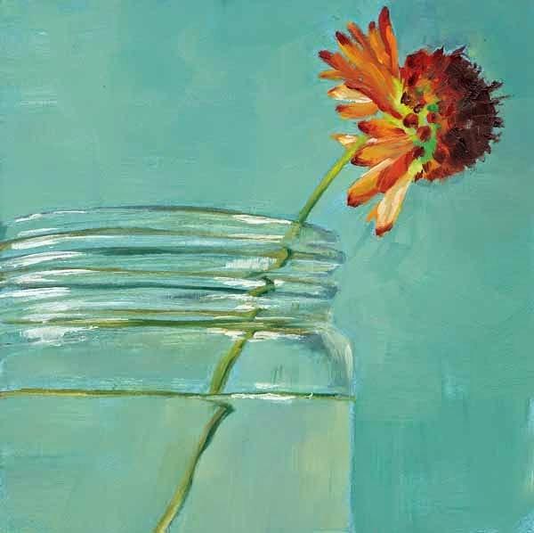 """""""The Gift of Friendship"""" original fine art by Brenda Ferguson"""