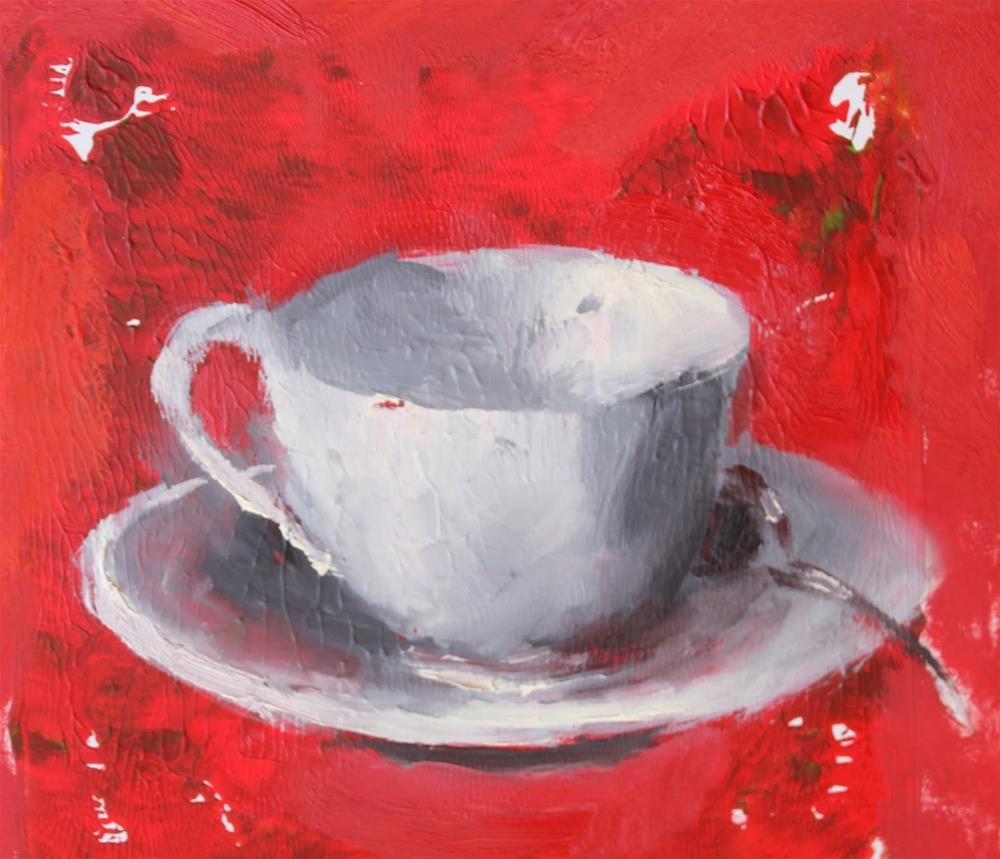 """""""Wake Up, Contemporary Still Life Paintings by Amy Whitehouse"""" original fine art by Amy Whitehouse"""