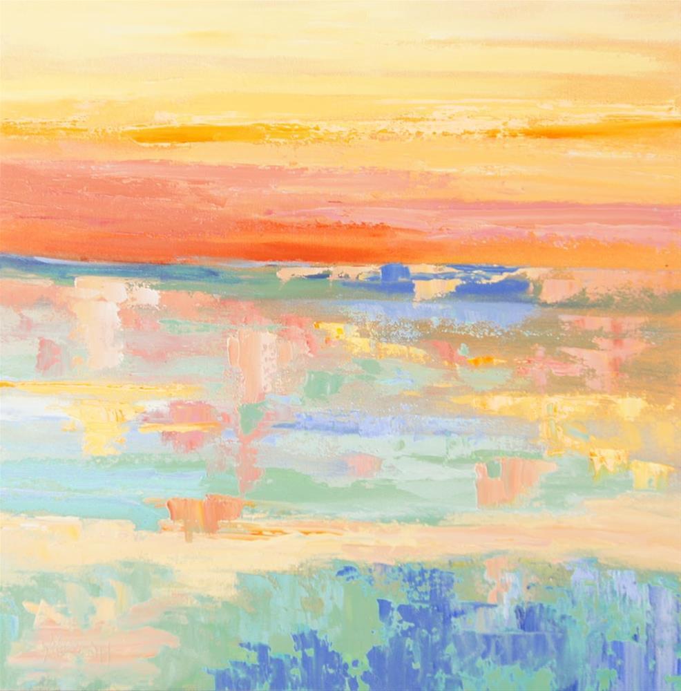 """Namibia Impressions 3 - Etosha"" original fine art by Marion Hedger"