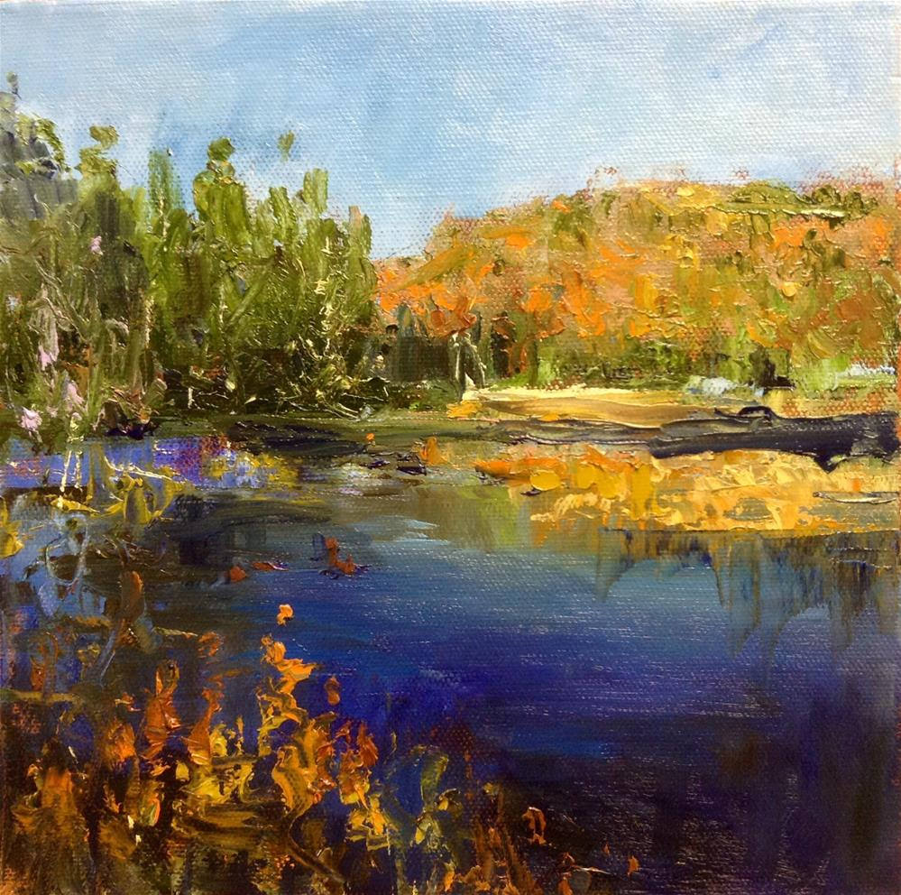 """Autumn Jewel"" original fine art by Cathy Boyd"