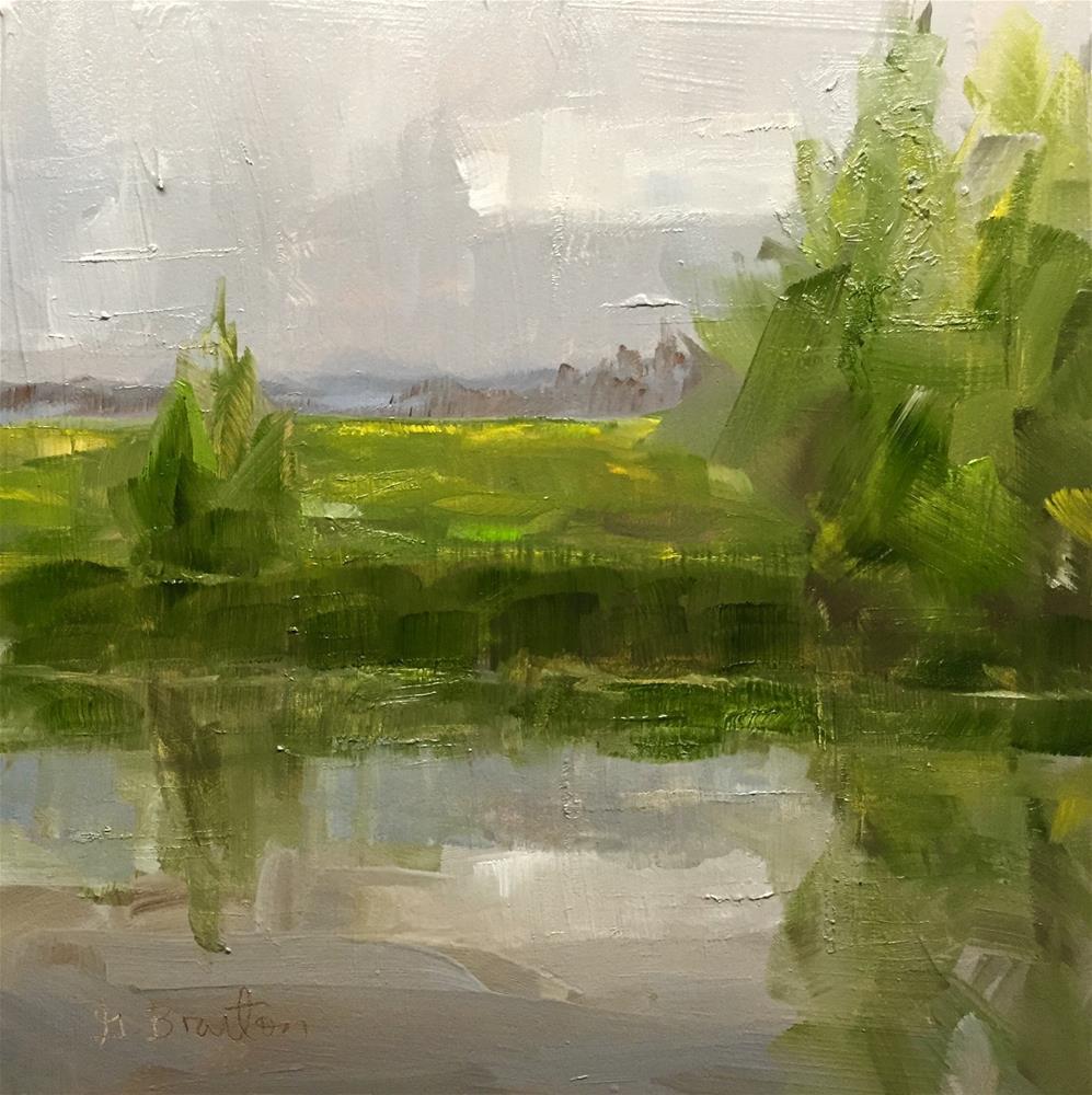 """Musings"" original fine art by Gary Bruton"