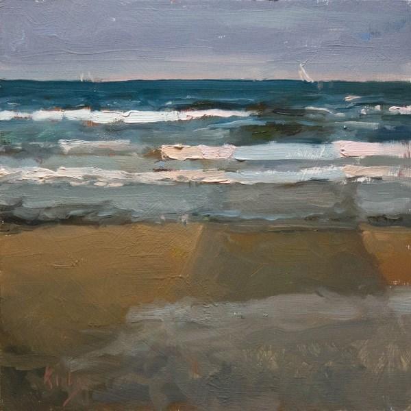 """""""Cast into the Sea"""" original fine art by Randall Cogburn"""
