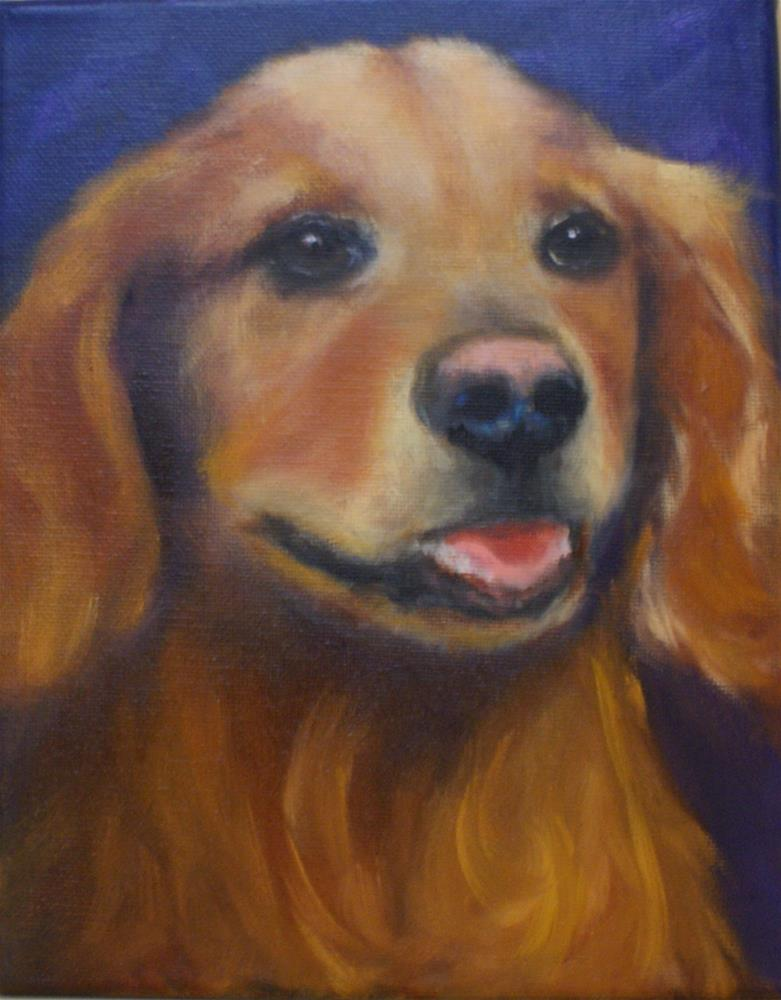 """Lucy"" original fine art by Beverly Koldon"