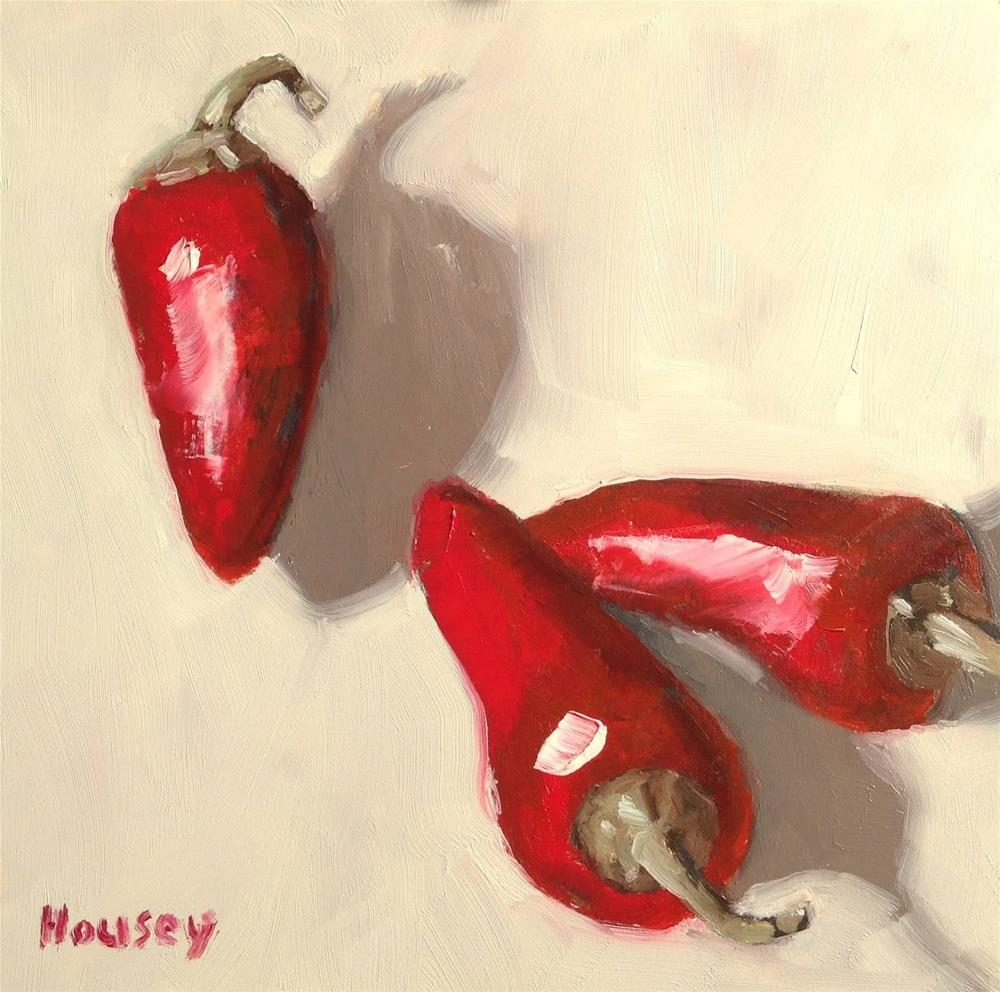 """Fresno Peppers"" original fine art by Bruce Housey"