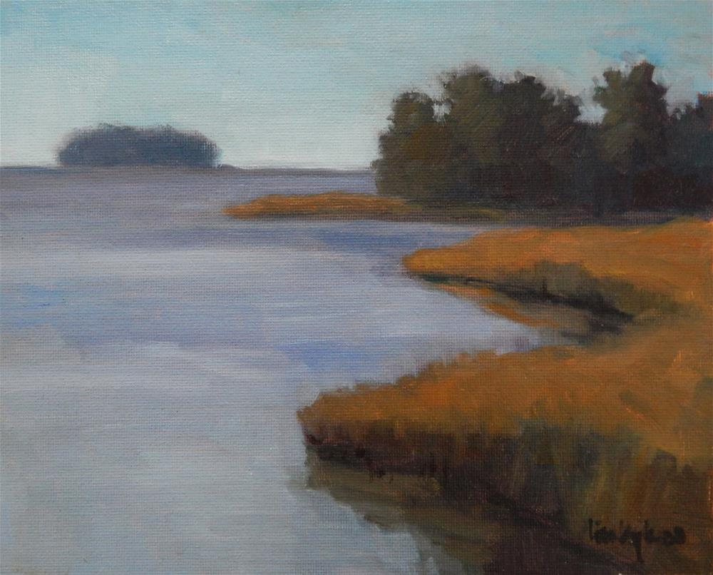 """Water's Edge"" original fine art by Lisa Kyle"