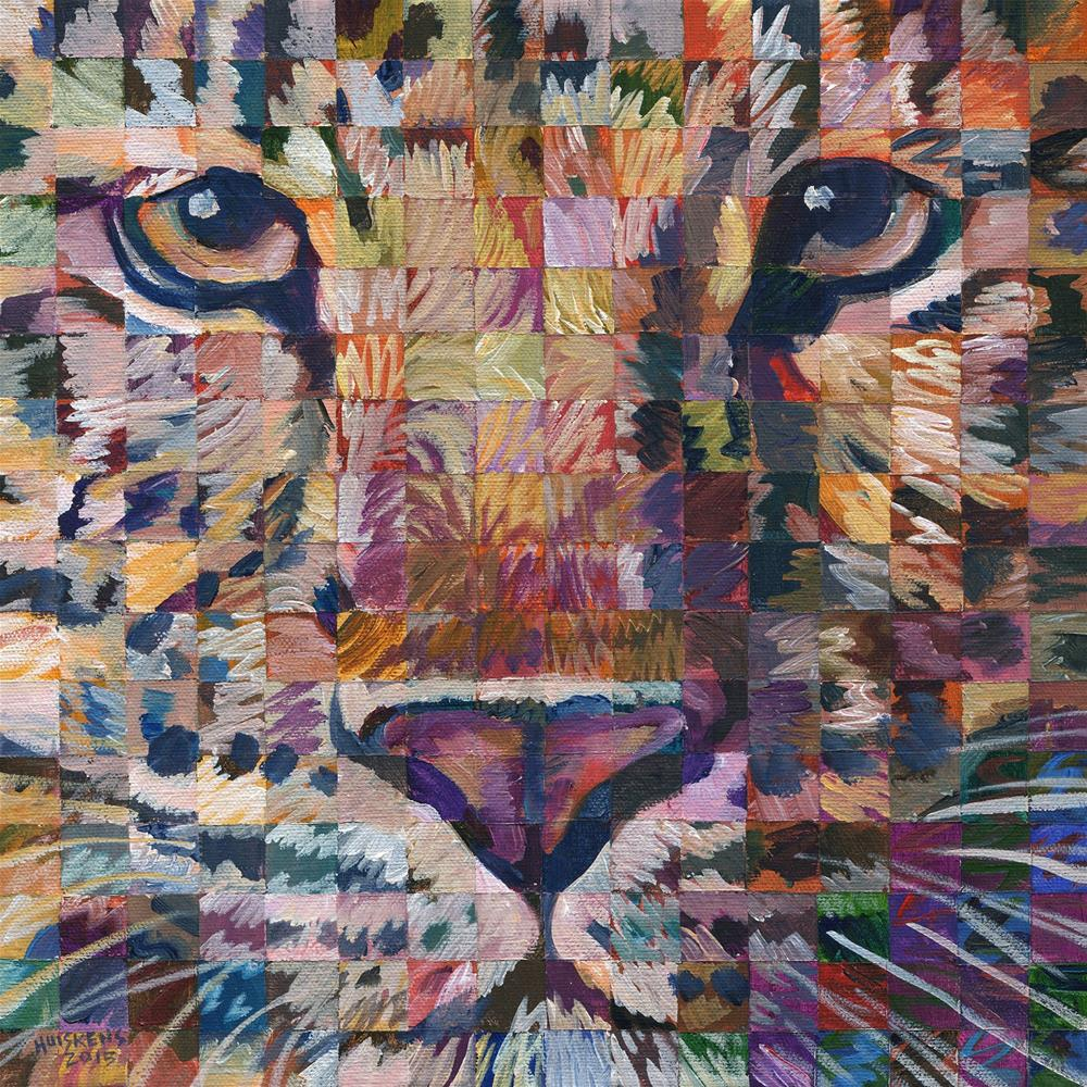 """""""Leopard No. 1"""" original fine art by Randal Huiskens"""