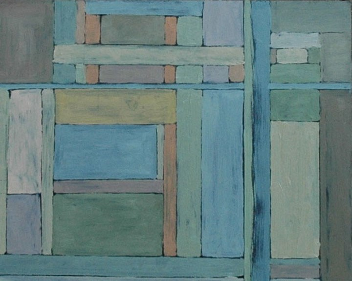 """WINDOWS"" original fine art by Linda Popple"