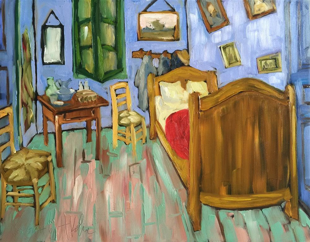 """Master's Study: Van Gogh"" original fine art by Hallie Kohn"