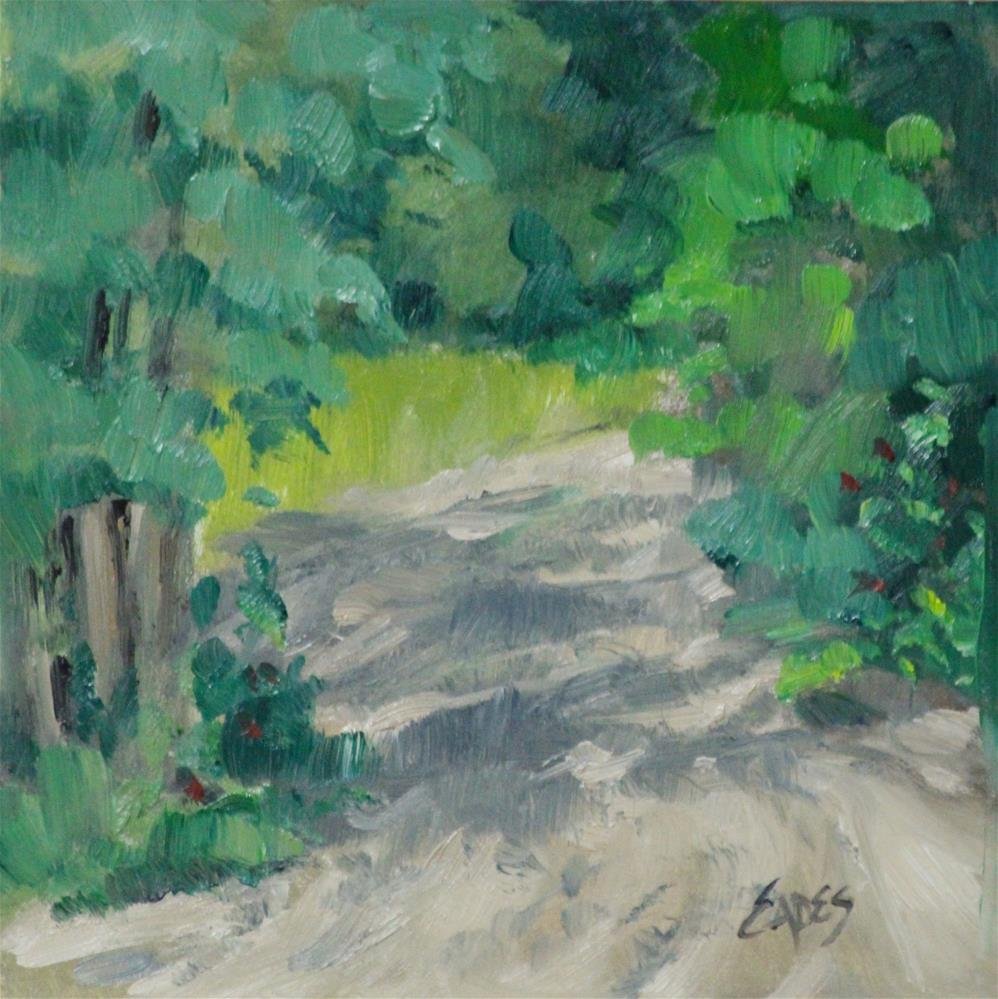 """Sandy Drive"" original fine art by Linda Eades Blackburn"