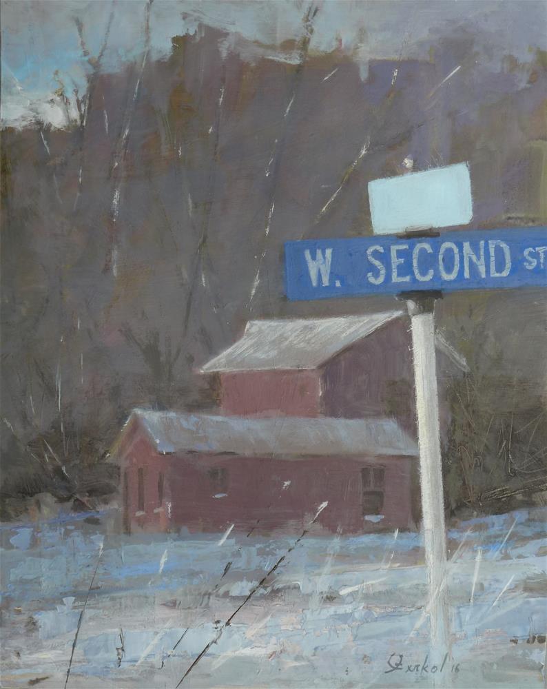 """""""First Light"""" original fine art by Ron Ferkol"""