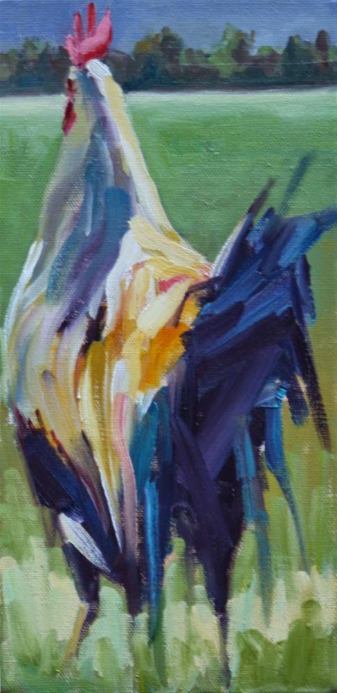 """over yonder"" original fine art by Carol Carmichael"