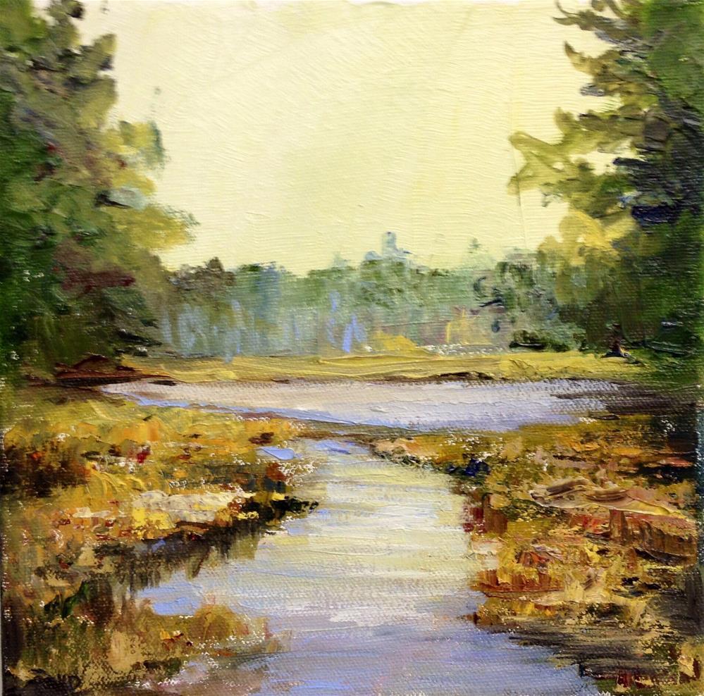 """""""Quiet Times"""" original fine art by Cathy Boyd"""
