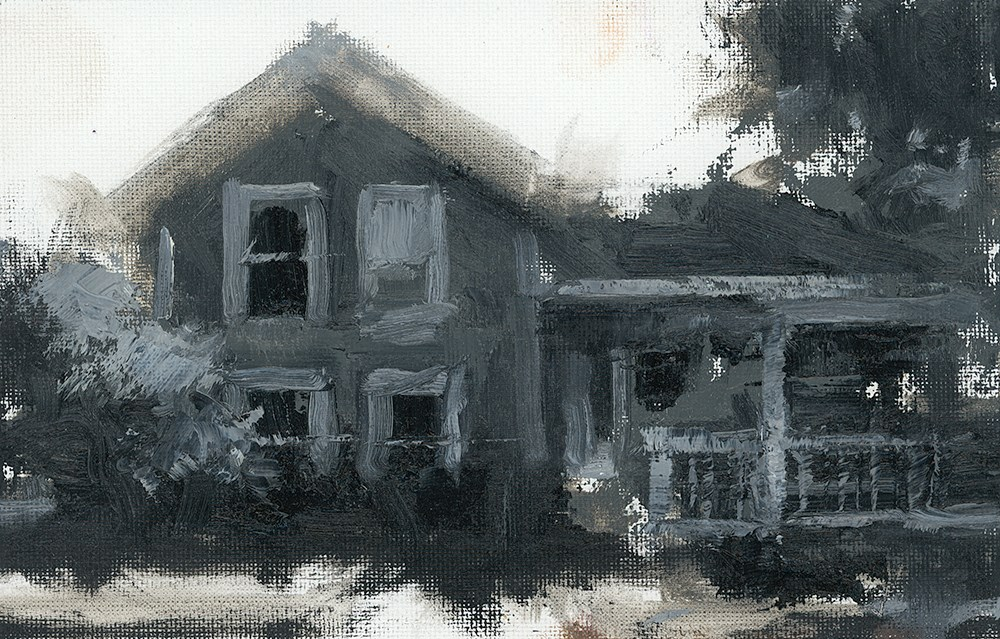 """Home Values"" original fine art by Todd Zuithof"