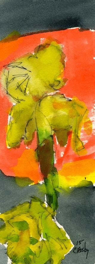 """Almost Twins"" original fine art by Donna Crosby"