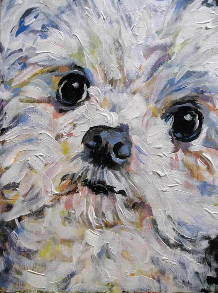 """Baxter"" original fine art by Susan Elizabeth Jones"