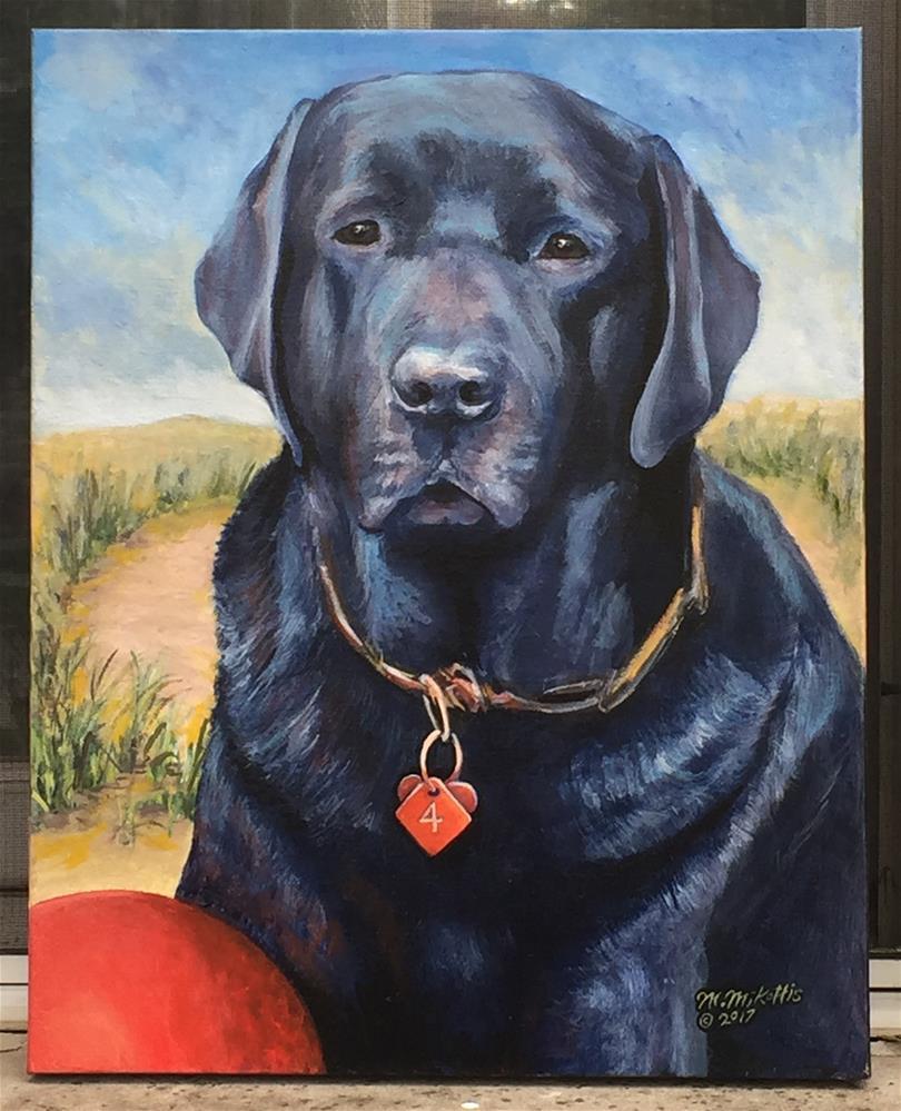 """Hayden Portrait"" original fine art by Michael Mikottis"